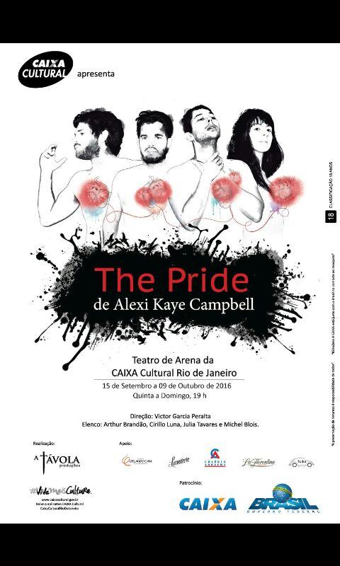 Sorteio De Convites Para O Espetáculo The Pride Para Os Dias 06
