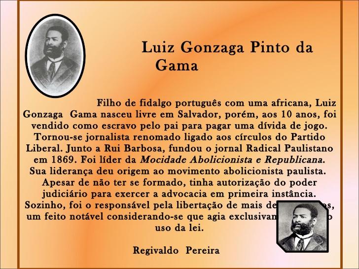 Resultado de imagen para LUIZ GONZAGA PINTO DA GAMA